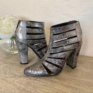 Michael Antonio Ankle Boots Silver